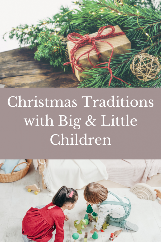 simple christmas traditions with all ages of kids