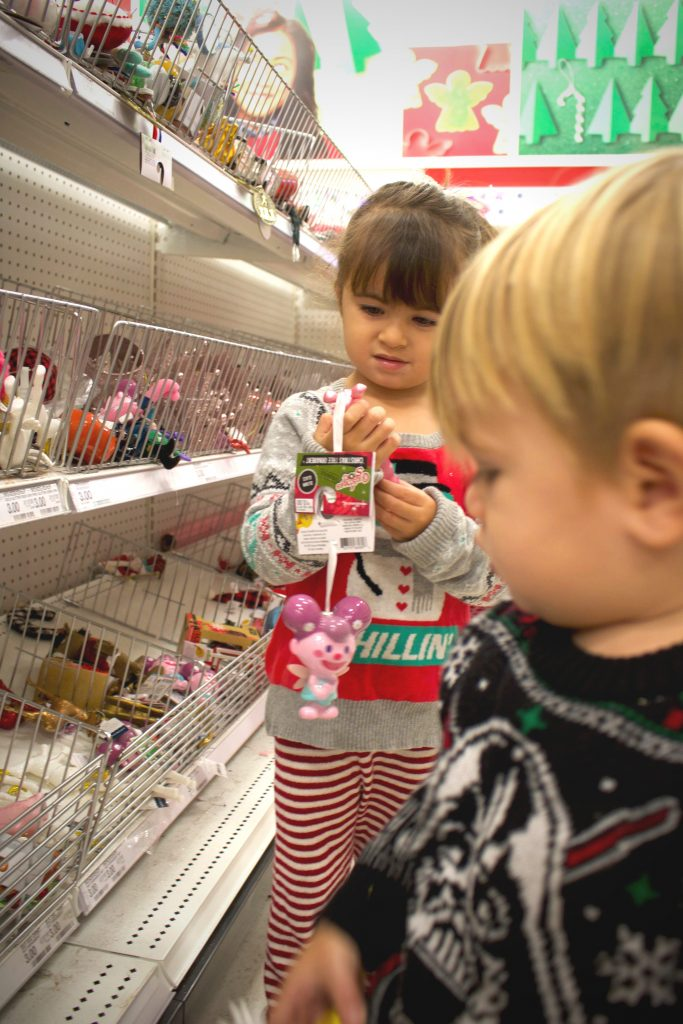 ornament shopping christmas traditions family