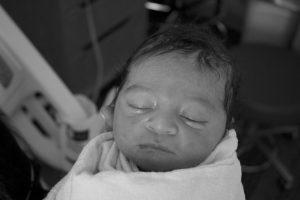 newborn baby boy hospital